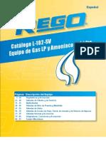 Catalogo Rego Em Espanhol