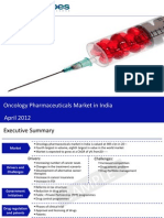 Market Research Report :Oncology Pharmaceuticals Market in India 2012