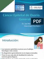 Cáncer Epitelial de Ovario presentación