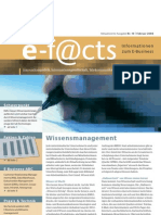 E-Facts 10 - Wissensmanagement