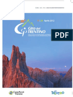 CYCLING GIRO DEL TRENTINO Roadbook (Including Regulations-60p)[1]