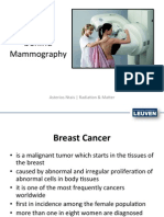 Physics Behind Mammography