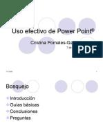 Uso efectivo del Power Point
