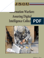 Information Warfare - Assuring Digital Intel Collection