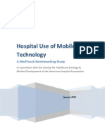 Hospital Use of Mobile Technology - A MedTouch Bench Marking Study(1)