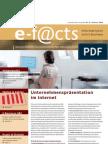 E-Facts 11 - Unternehmenspräsentation im Internet