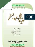 Herbarium Cover