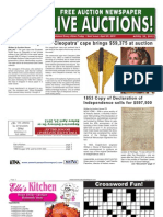 Americas Auction Report 4.20.12 Edition