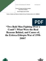 Eritrea-Ethiopia War (1998-2000)