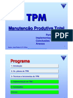 TPM - Total Productive Maintenance - Parte 4