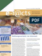 E-Facts 13 - Zahlungsverkehr im Internet