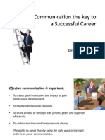 Effective Communication the Key to a Successful Career (1)
