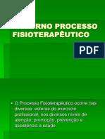 MODERNO PROCESSO FISIOTERAPÊUTICO