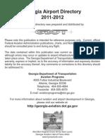 Georgia Airports Directory (2011)