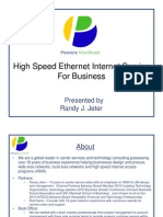 High Speed Ethernet Internet Service for Business