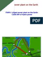 Biggest Hydro Power Station