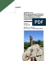 Lindungi Alam Sekitar Habitat Gajah