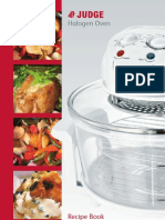 Halogen Oven Care and Use