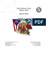 Ohio Food Code MARCH 09 3717-1