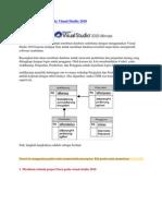 Membuat Database Pada Visual Studio 2010