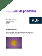 ornamentdeprimavara