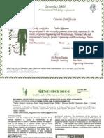 Plasmidic Resistance to B-lactamic Antibiotic Genomics-cuba 2006