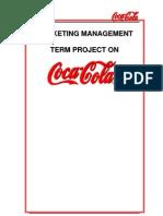 Marketing Management (Coca Cola)