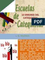 10 Errores Del Catequista