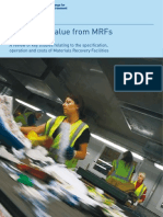 Materials recycling facilities _specifications, operations & costs _key studies WRAP2003