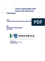 The Economics Associated With Natural Areas in the Delmarva Peninsula