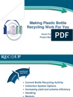 Plastic bottle recycling _project review WRAP2006