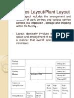 Unit 2 -Topic 2 - Plant Layout