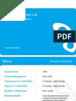 Ipca Corporate Presentation