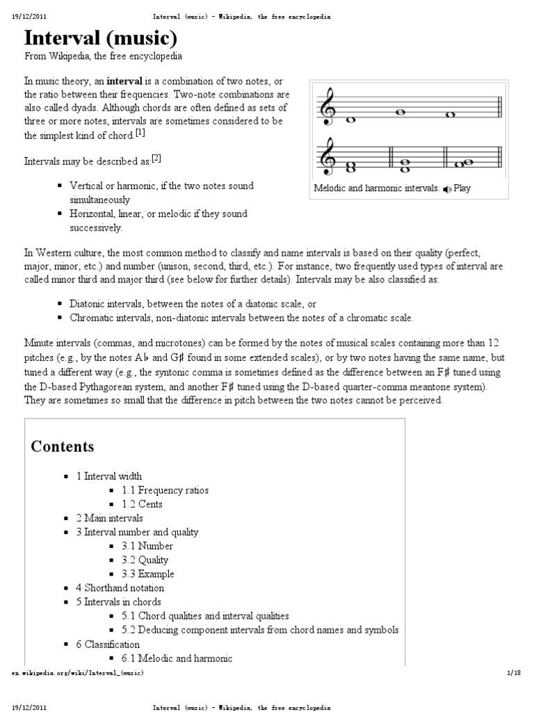 Interval music interval music chord music hexwebz Gallery