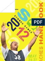 2012 Summer Games Coaches Handbook WEB