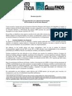 Resumen Ejecutivo - Evaluación PDH 2012