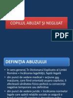 COPILUL ABUZAT