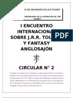Circular 2-Encuentro Tolkien y fantasy anglosajón
