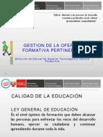 GestionDeLaOfertaFormativaPertinente
