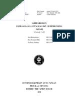 Laporan uji rangsangan tunggal dan pembanding jamak