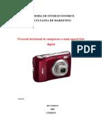 Procesul Decizional de Cumparare a Unui Aparat Foto Digital
