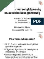 GKI - A magyar versenyképesség és az élelmiszer-gazdaság