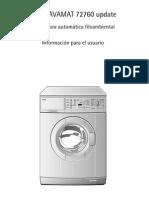 Manual Lavadora AEG943588es