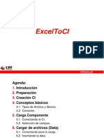 PeopleSoft ExcelToCI