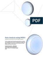 Data Analysis using WEKA