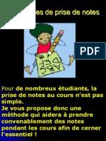 Techniques de Prise de Notes
