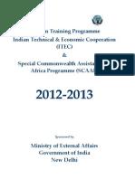 ITEC Brochure 2012-13