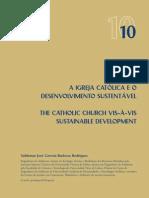 Igreja Catolica e desenvolvimento sustentável