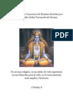 FILOSOFÍA DE LA CONCIENCIA DE KRISHNA