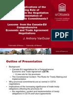 CETA Presentation - UBC April 16, 2012